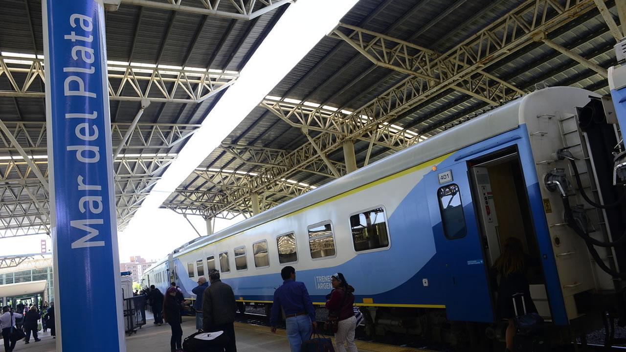 Trenes Argentinos estudia implementar cuatro servicios diarios a Mar del Plata