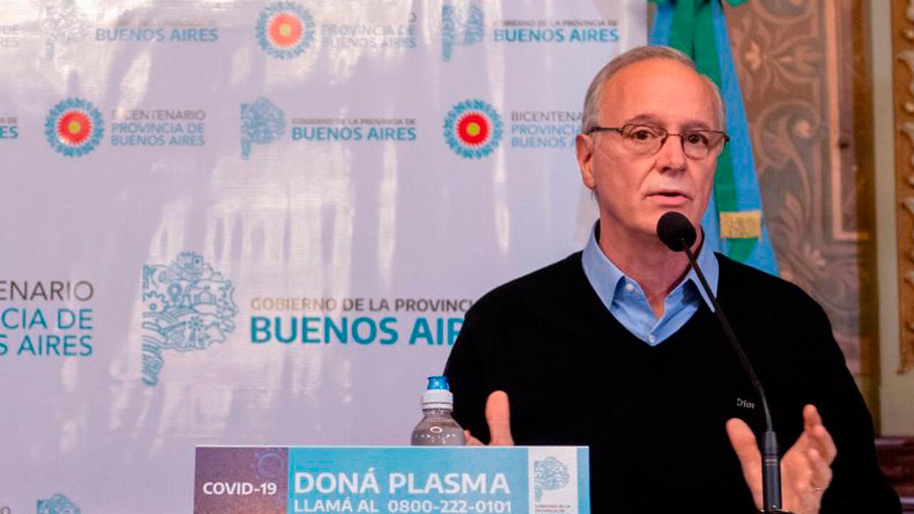 Ahora en vivo por YouTube la Provincia de Buenos Aires admite 3.500 muertes más sin contabilizar