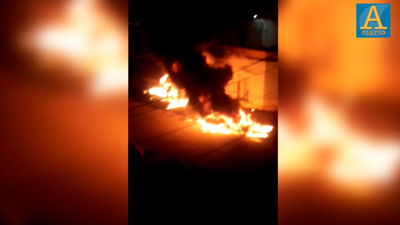 Morón: Noche de explosiones