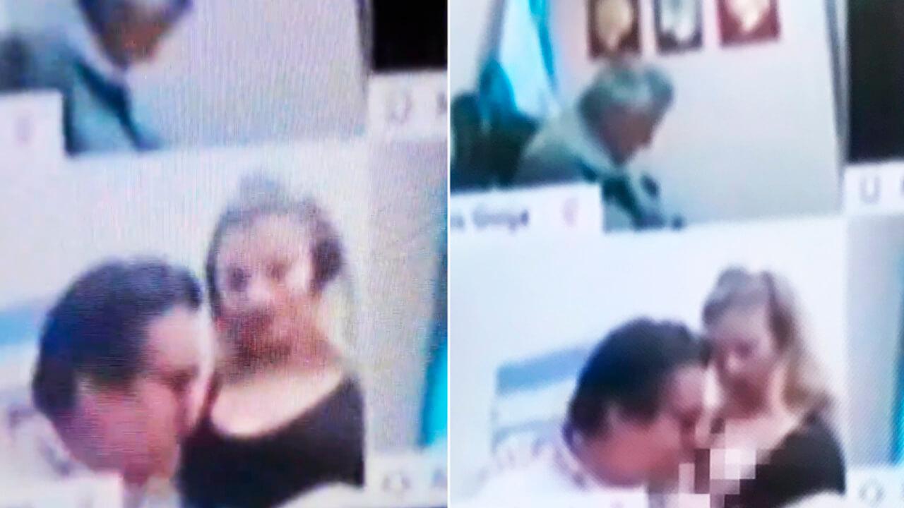 Escándalo en Diputados: un legislador del Frente de Todos mostró un acto erótico en plena sesión