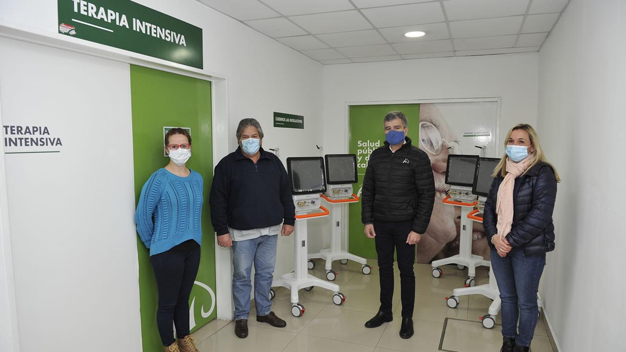 Hurlingham: nuevos respiradores para hospital municipal