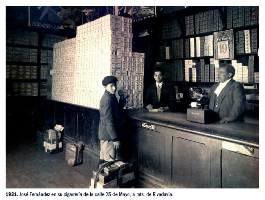 1931 - Cerrajería de José Fernández - 25 de Mayo y Rivadavia