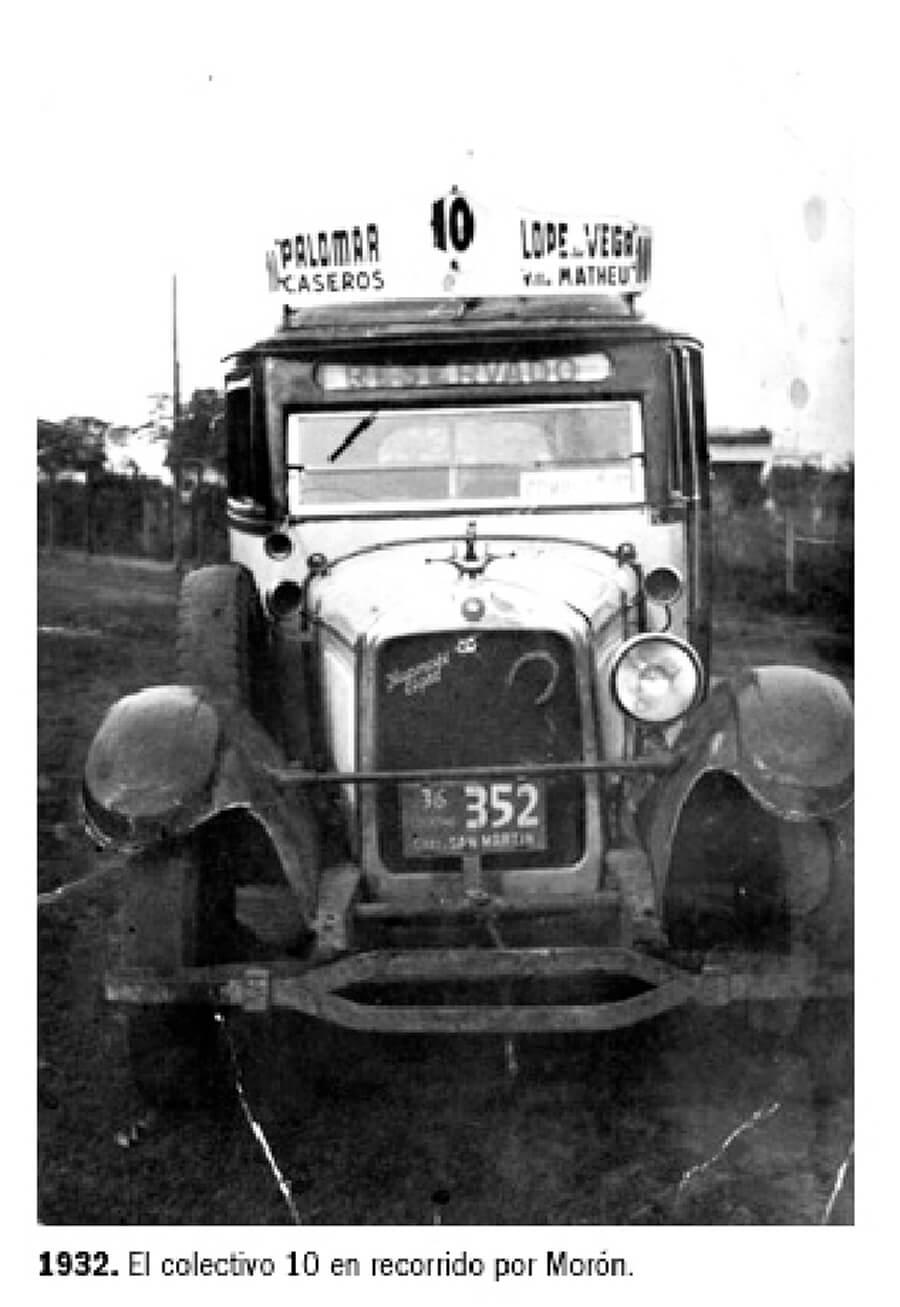 1932 - Colectivo 10 - El Palomar