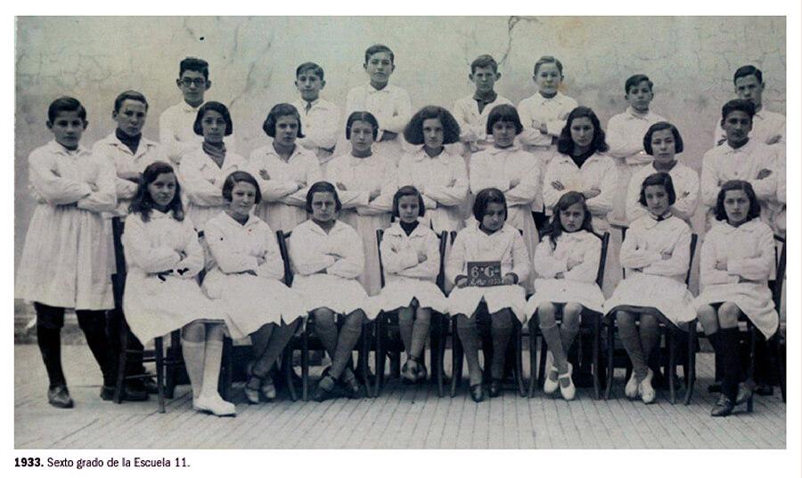 1933 - Sexto Grado Escuela N° 11