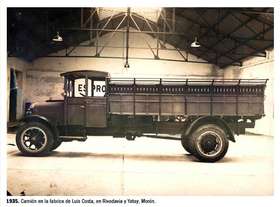 1935 - Camión Fábrica Luis Costa