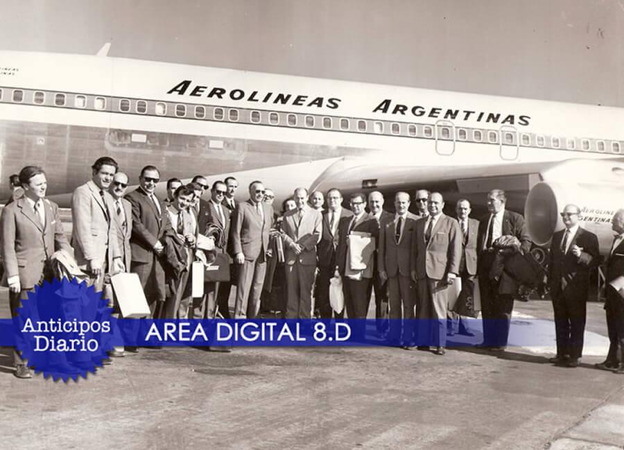Aerolíneas Argentinas en Morón