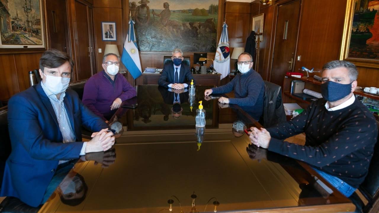 Intendentes del oeste se reunieron con el Ministro de Transporte