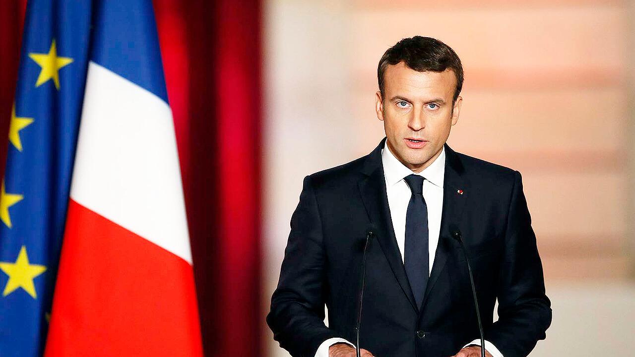 En Francia Macron vuelve a la cuarentena dura