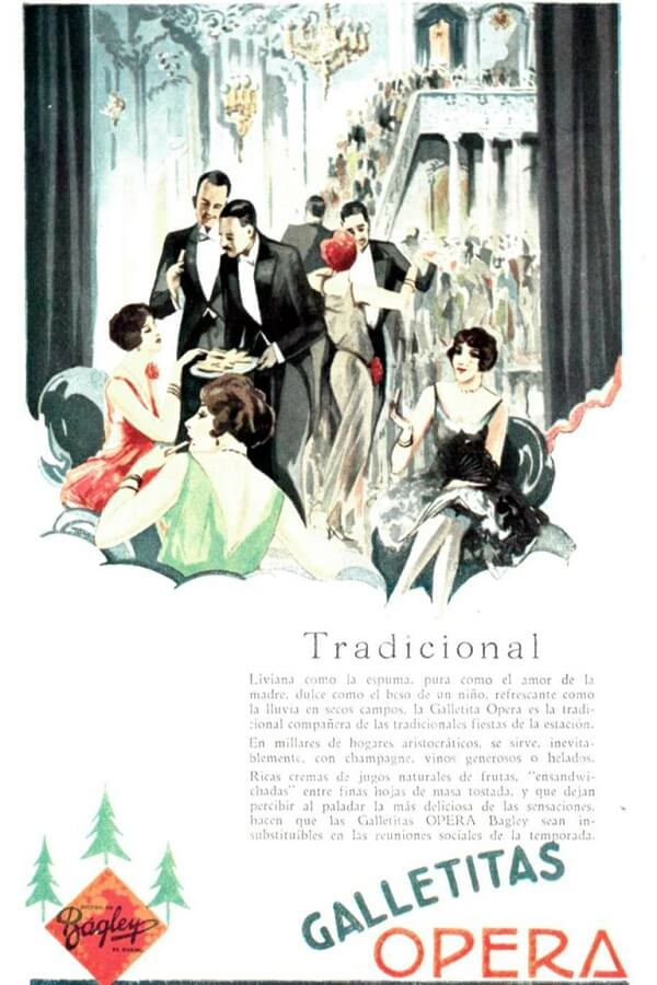 Galletitas Ópera: Historia