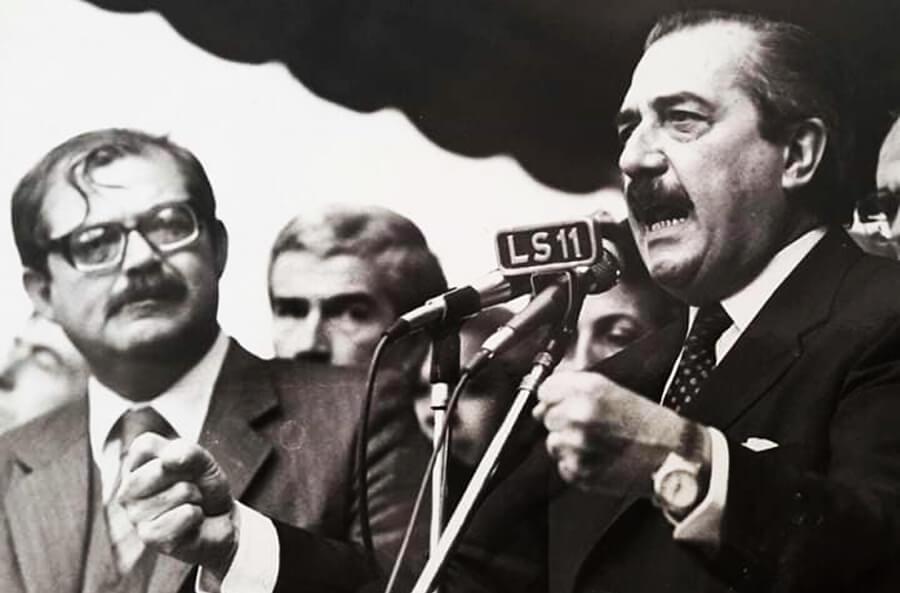 Rodolfo García Silva Con Raúl Alfonsín