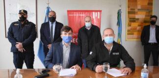 Morón: Ghi y Berni inauguraron nuevos espacios para seguridad