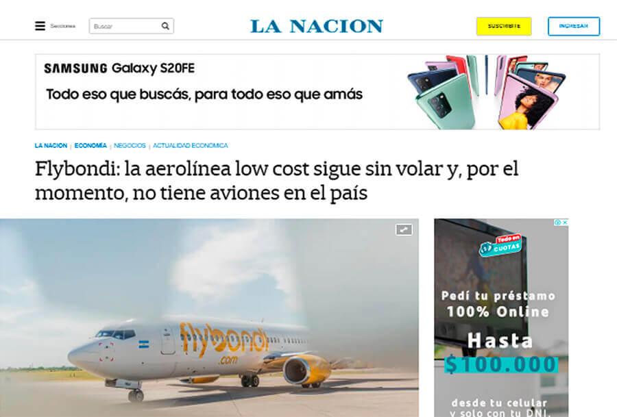 El Palomar: Flybondi ya no tiene aviones en Argentina