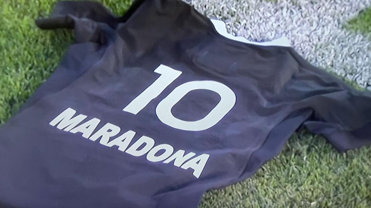 Maradona: All Blacks lo homenajearon y Los Pumas no