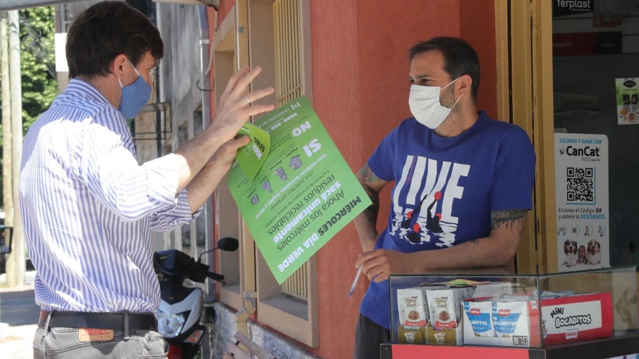 Morón Día Verde: comenzó campaña en Villa Sarmiento