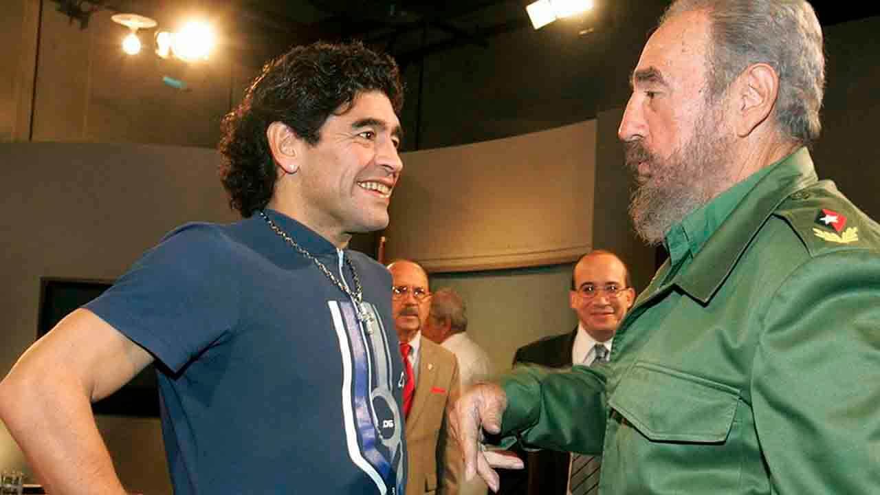 Maradona y Fidel Castro: No lo vas a creer