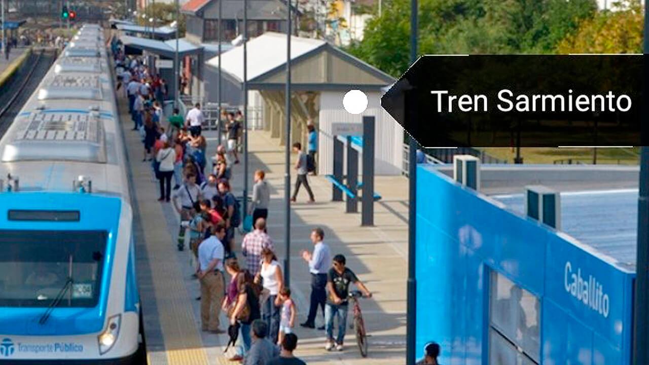 Tren Sarmiento: Servicio Reducido Ahora