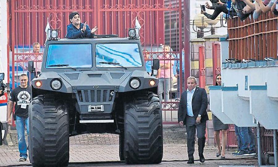 Autos de Diego Armando Maradona