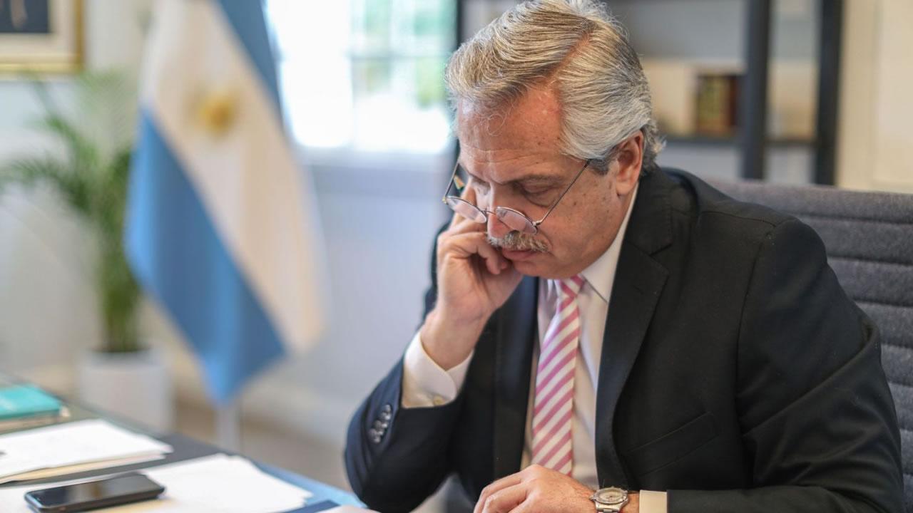Alberto Fernández dijo que el gobierno está por firmar contrato con Rusia por la vacuna