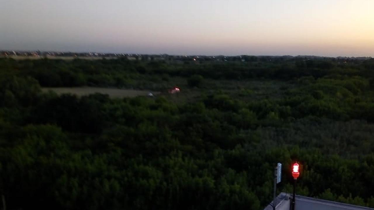 Lograron apagar el fuego en la Reserva Natural Urbana de Castelar