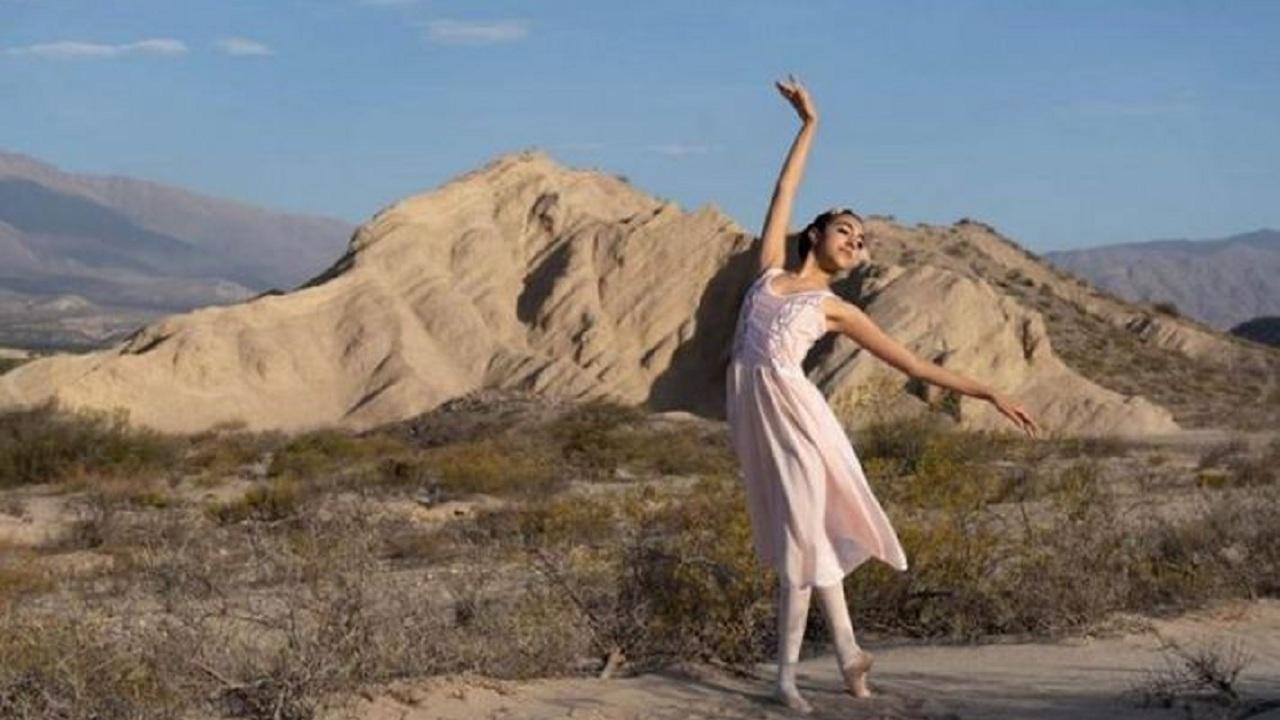 Aborigen aprendió ballet