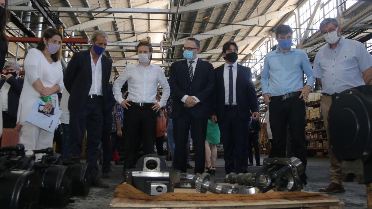 Continúa la ampliación del Parque Industrial La Cantábrica