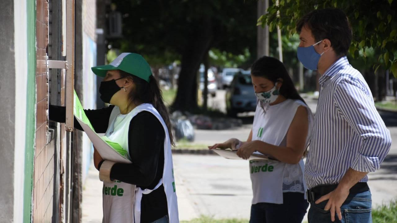 """Continúa el """"Día Verde"""" por el medio ambiente en Morón"""
