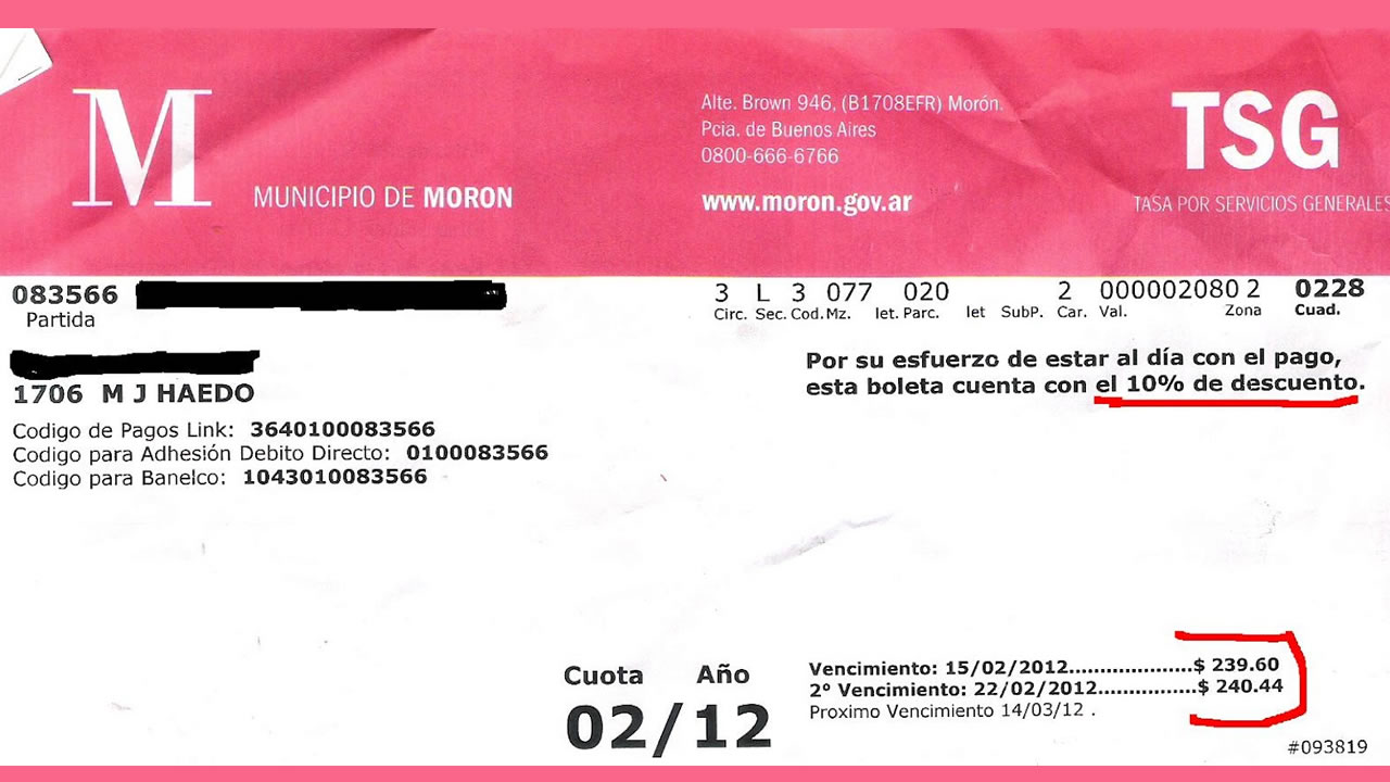 Municipio de Morón convocó a deudores a moratoria extraordinaria