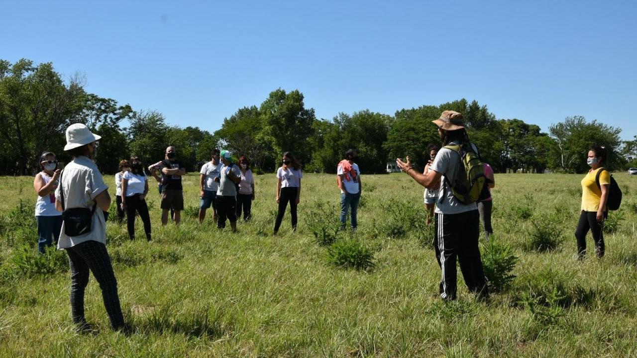 La futura Reserva Natural de El Palomar recibió a los primeros visitantes