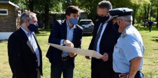 Morón firmó convenio con Defensa para creación de Reserva en El Palomar
