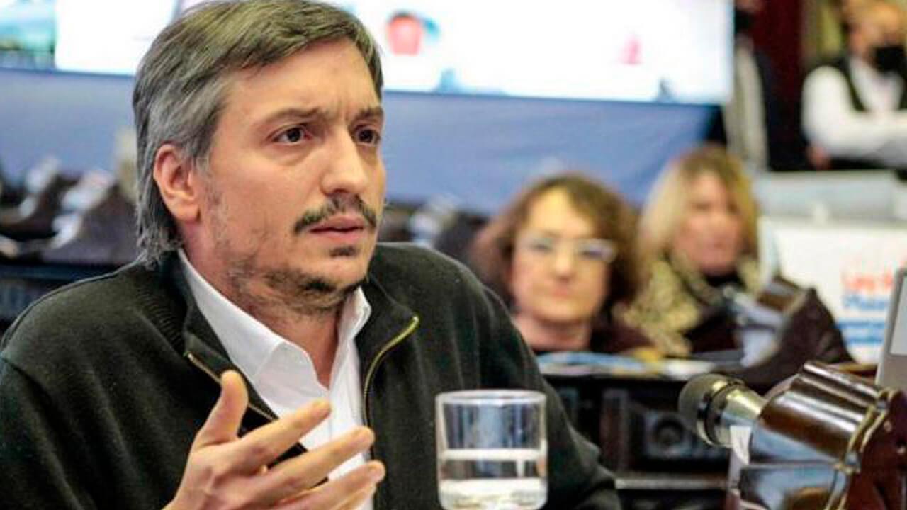 Máximo Kirchner va por el PJ bonaerense