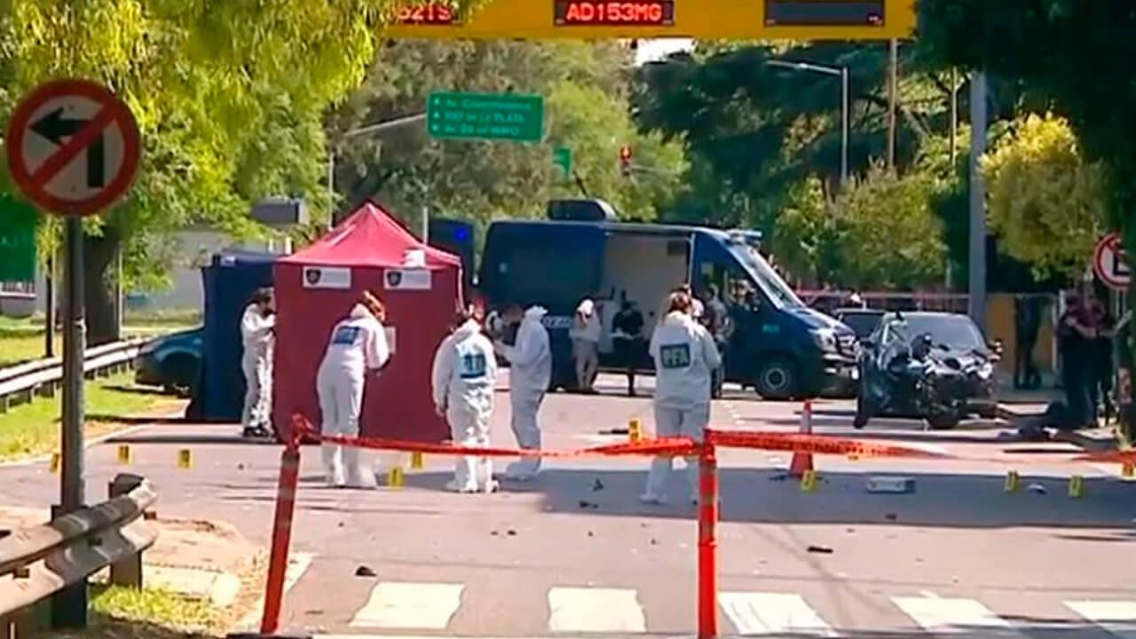Motochorros evadieron un control policial en Devoto y atropellaron y mataron a un efectivo