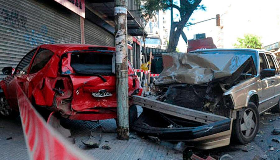 Hubo 22 muertos en varios accidentes