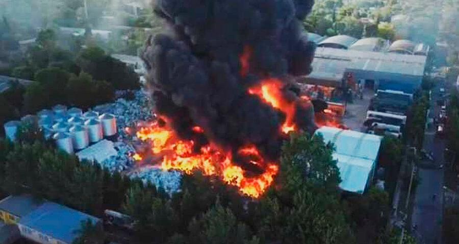 ¿Qué se incendia en el conurbano?