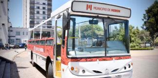 Morón: el Municipio recibió un colectivo donado de la empresa 216