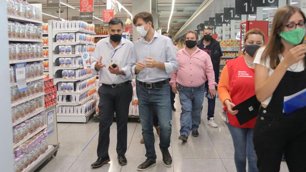 En Morón siguen fiscalizando los precios en comercios grandes y chicos