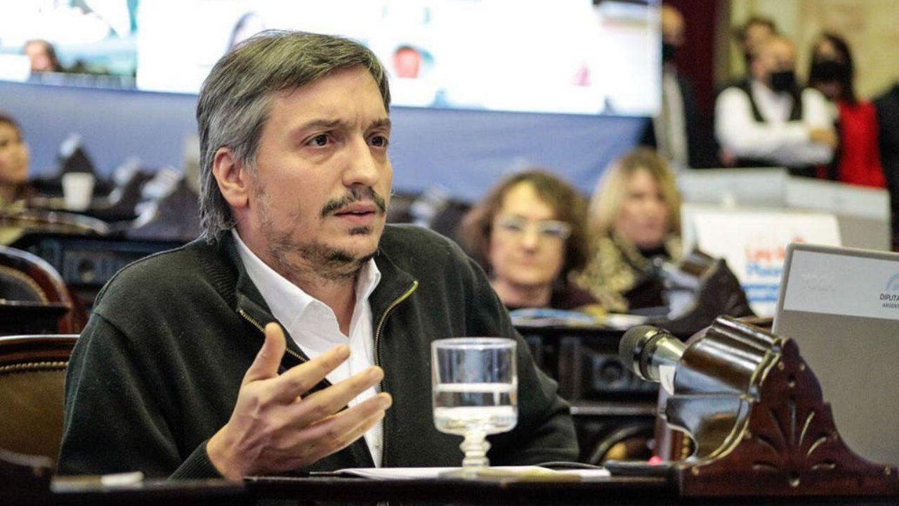 Una consultora midió a Máximo Kirchner