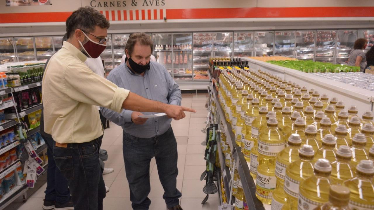 Morón: el Municipio controló los Precios Cuidados del supermercado Disco