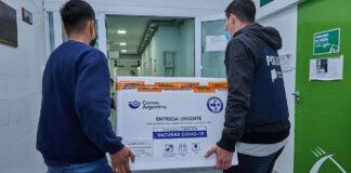Hurlingham: intendente celebró la llegada de un nuevo lote de vacunas