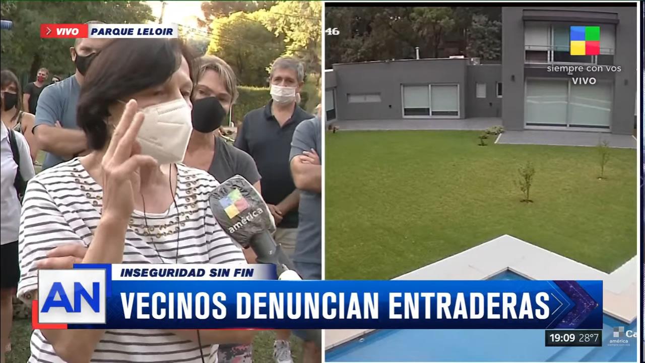 Ituzaingó Parque Leloir: Vecinos le dan visibilidad a la inseguridad del lugar