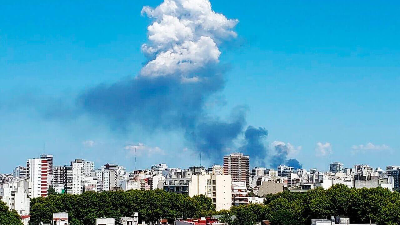 ¿Qué se incendia, en dónde y cuáles son los riesgos?