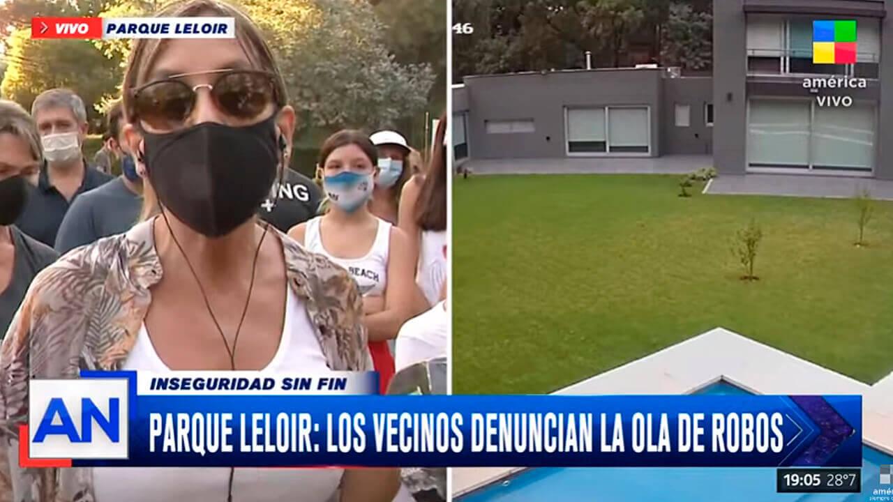 Ituzaingó Parque Leloir: Vecinos le dan visibilidad al estado de inseguridad