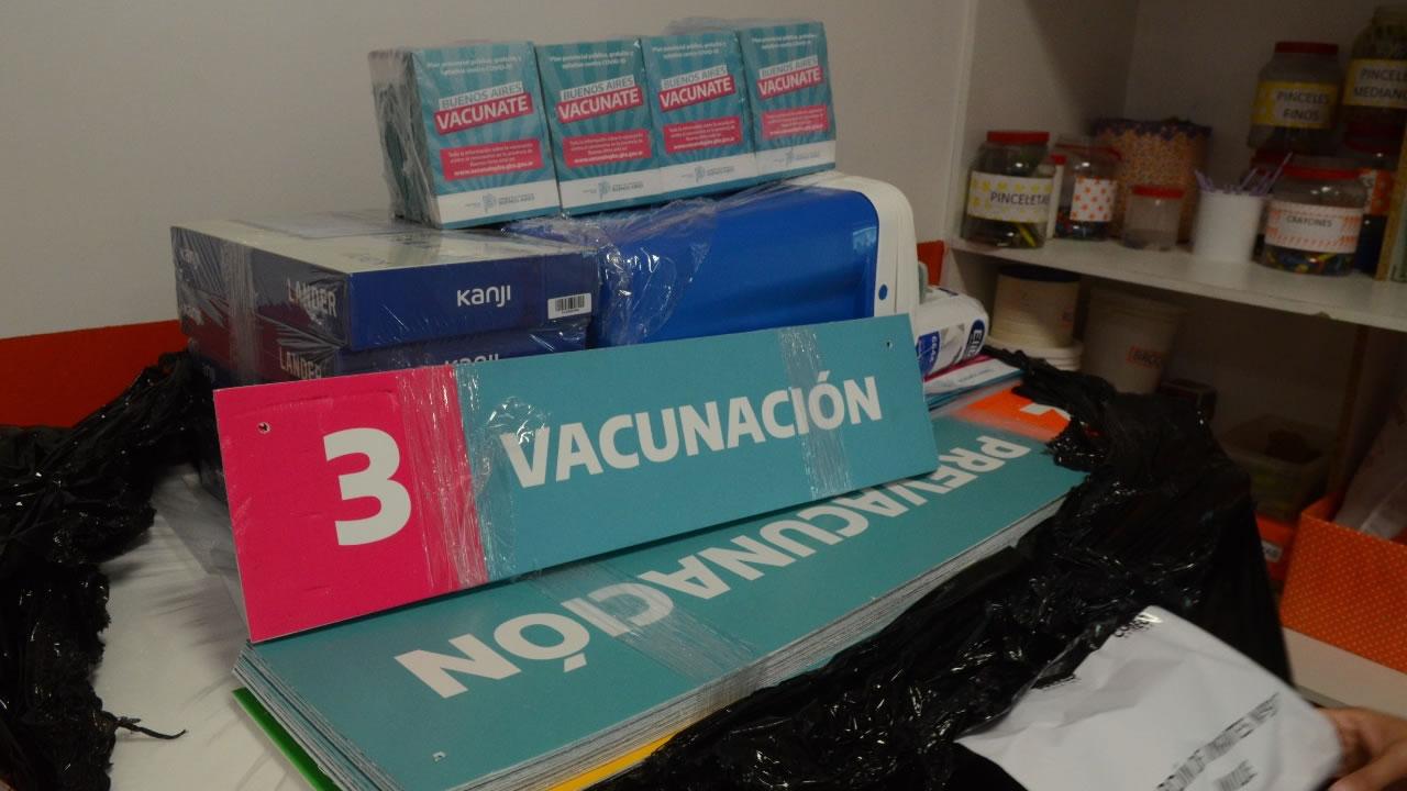 Equiparon escuelas de la provincia para la vacunación