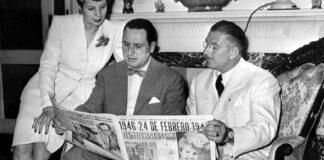 El peronismo de Morón se autoconvoca frente al busto de Perón de la Plaza San Martín al cumplirse 75 años del primer triunfo