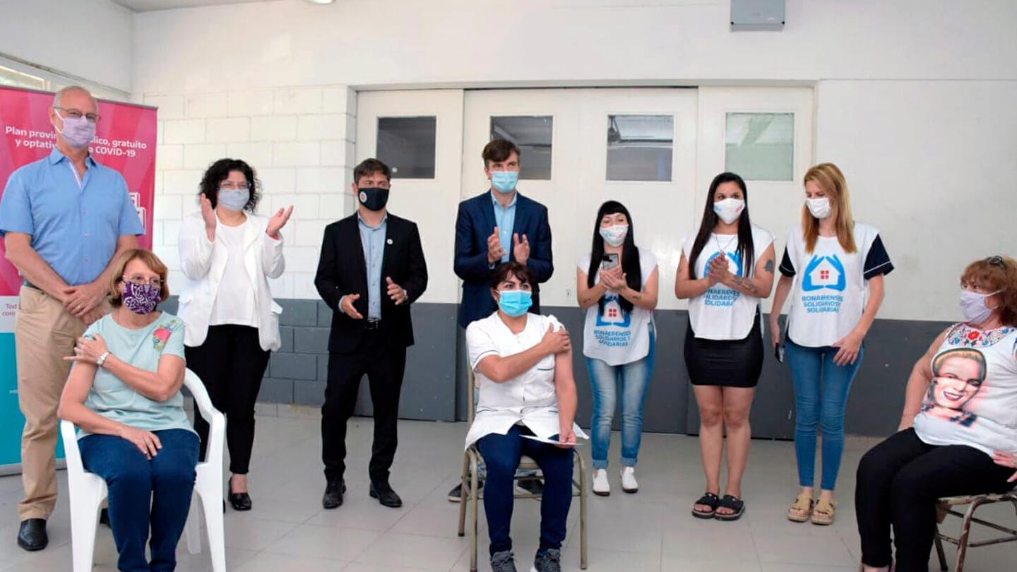 Ultimo Momento: Carla Vizzotti en Morón con Coronavirus