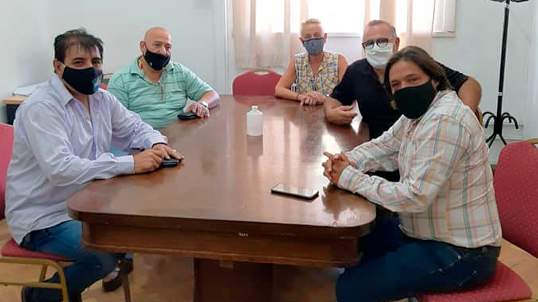 Nueva recomposición salarial para los municipales cerró ayer Luis Duré
