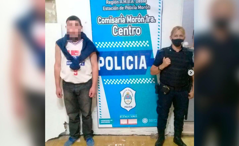 Morón: Cuatro detenidos con pedido de captura