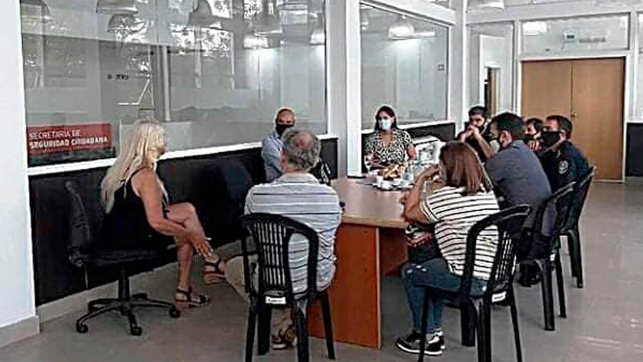 Haedo: Reunión con el Gobierno