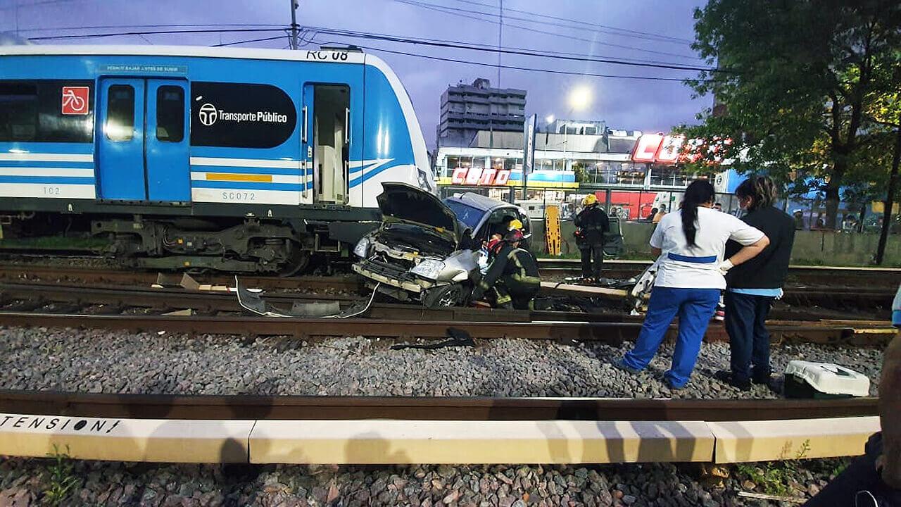 2 de marzo de 2021, hubo un accidente en Ramos Mejía frente a Coto