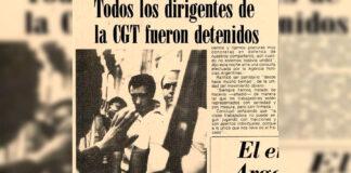 """La CGT y su consigna """"Paz, Pan y Trabajo"""""""