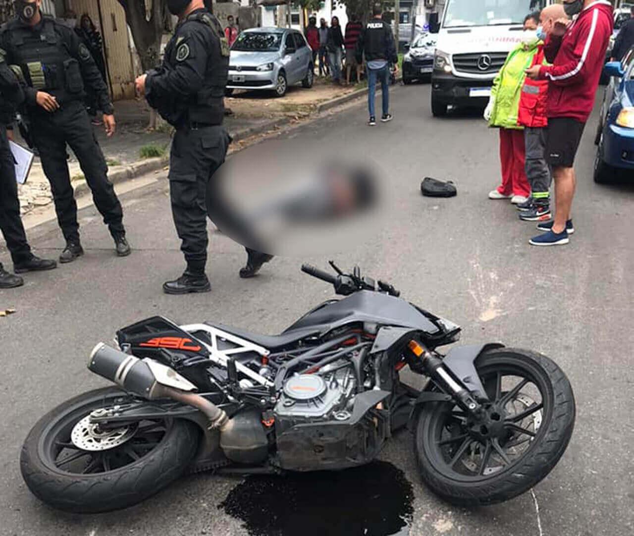 Castelar: Dos Motochorros armados detenidos